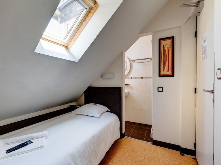 Les chambres de l\'hôtel Le Florin à Rennes